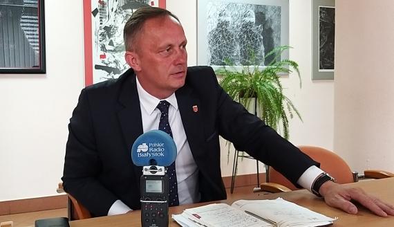 Nowy starosta siemiatycki Marek Bobel - fot. Renata Reda
