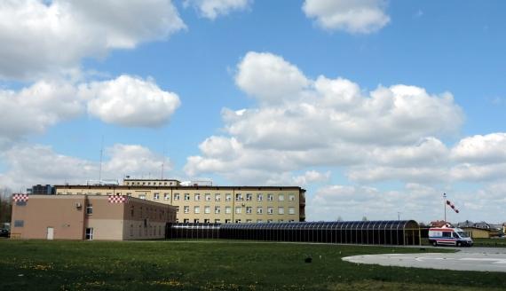 Szpital Ogólny w Wysokiem Mazowieckiem, fot. Adam Dąbrowski
