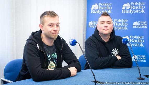 Bartosz Zackiewicz i Przemysław Motuk, fot. Sylwia Krassowska