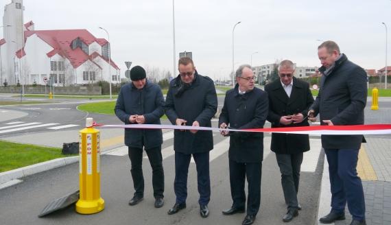 W Suwałkach oddano do użytku ul. Rotmistrza Witolda Pileckiego, fot. Marcin Kapuściński