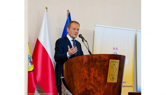 Festiwal Dyplomatyczny w Białymstoku, wykład inauguracyjnym Donalda Tuska, fot. Dawid Gromadzki? UM Białystok