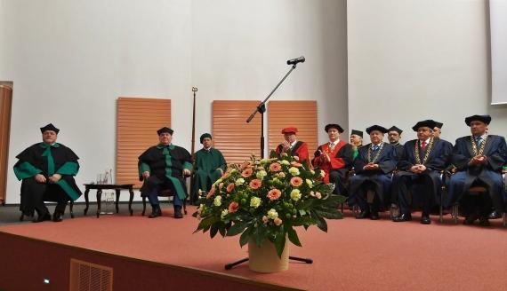 Prof. Jozef Živčák doktorem honoris causa Politechniki Białostockiej, fot. Olga Gordiejew