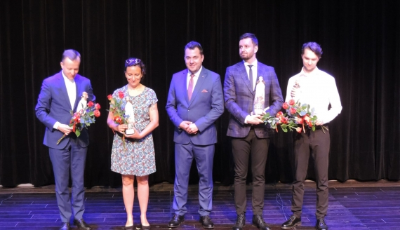 Przyznano Nagrody Prezydenta Łomży w dziedzinie kultury, fot. Adam Dąbrowski