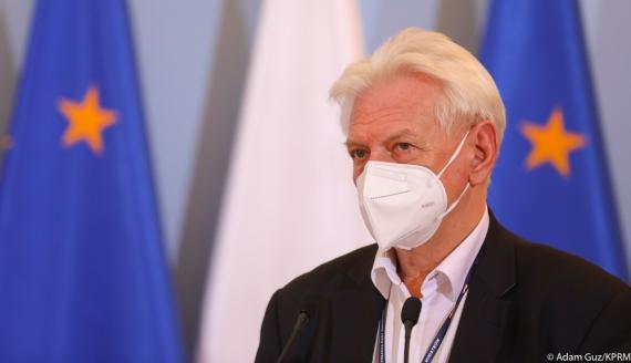 Profesor Andrzej Horban - fot. Adam Guz/KPRM