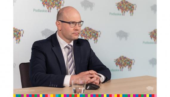 Marszałek Artur Kosicki, fot. Kamil Timoszuk / UMWP
