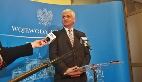 Wojewoda podlaski Bohdan Paszkowski, fot. Edyta Wołosik