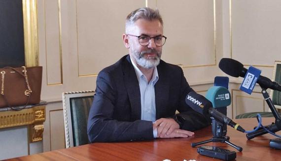 Główny organizator Grzegorz Kuczyński, fot. Barbara Sokolińska