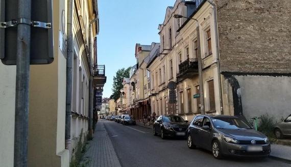 Ulica Ludwika Waryńskiego w Białymstoku, fot. Olga Gordiejew
