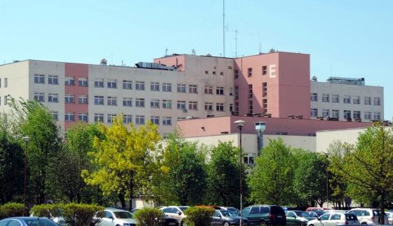 Szpital w Łomży, fot. Adam Dąbrowski