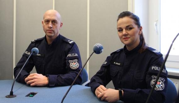 Tomasz Krupa i Katarzyna Kulesz, fot. Barbara Sokolińska
