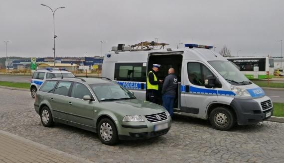 W Białymstoku trwa policyjna akcja SMOG, fot. Marcin Gliński