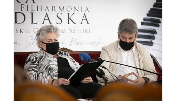 Violetta Bielecka i Mirosław Jacek Błaszczyk, źródło: OiFP