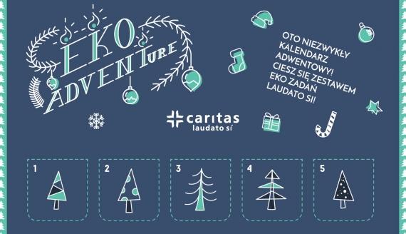 Eko-kalendarz adwentowy Caritas