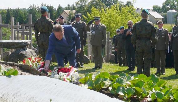 74. rocznica Obławy Augustowskiej, fot. Marcin Kapuściński