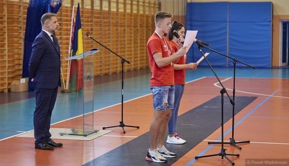 Rozpoczęły się XX Polonijne Igrzyska w Łomży, fot. Paweł Wądołowski