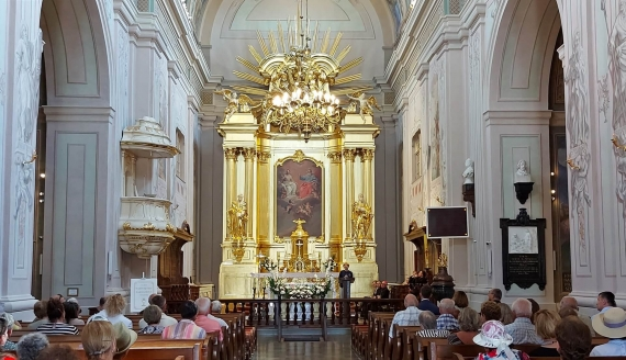 Zakończono prace remontowe w kościele pw. Trójcy Przenajświętszej w Tykocinie, fot. Grzegorz Pilat