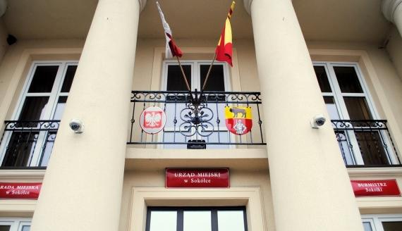 Urząd Miejski w Sokółce - Fot. Marcin Mazewski