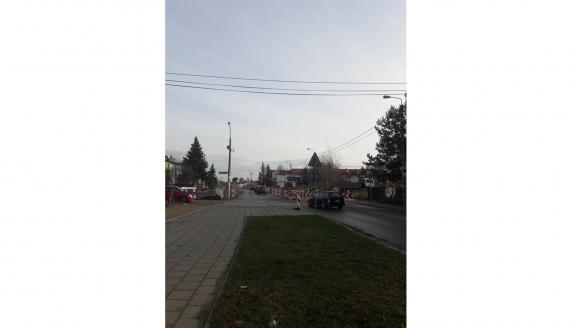 Na przebudowywanej ul. Klepackiej w Białymstoku będzie inna organizacja ruchu, fot. PRB
