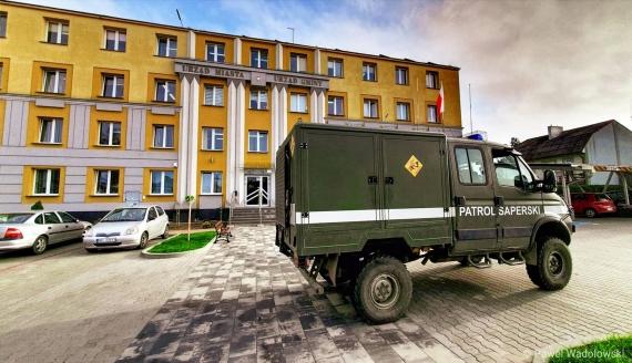 Sztab kryzysowy zadecydował o ewakuacji mieszkańców Kolna, fot. Paweł Wądołowski