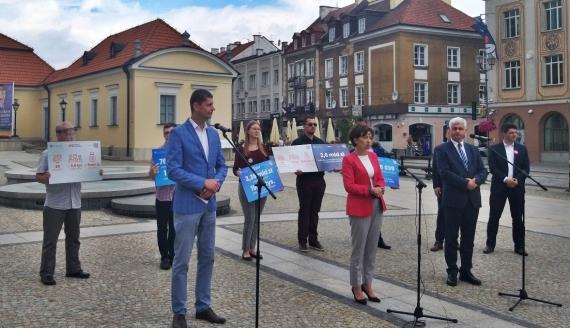 Marlena Maląg - minister RPiPS w Białymstoku, fot. Edyta Wołosik