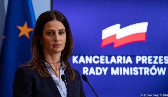 Minister sportu i turystyki Danuta Dmowska - Andrzejuk, fot. Adam Guz/KPRM