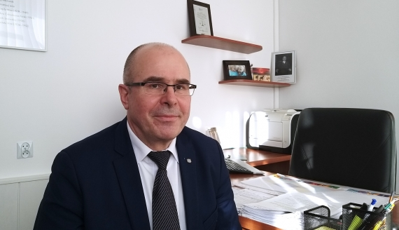 Dyrektor Okręgowego Urzędu Miar w Białymstoku Mirosław Wnorowski, fot. Renata Reda