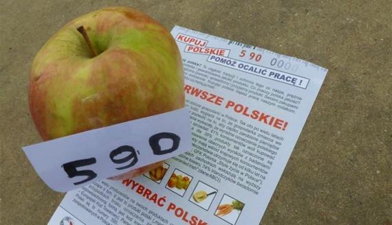 """""""Kupuj polskie produkty"""", fot. Wojciech Szubzda"""