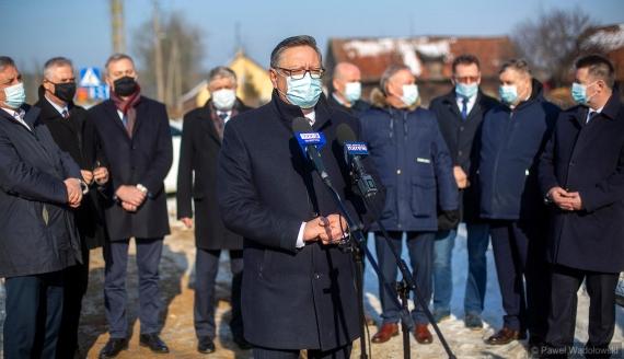 Samorządowcy z regionu apelują o modernizację DK 63 na odcinku Kisielnica - Pisz, fot. Paweł Wądołowski