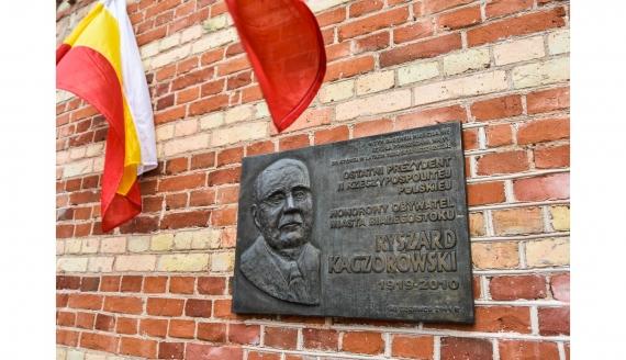 Rocznica urodzin prezydenta Kaczorowskiego, źródło: bialystok.pl