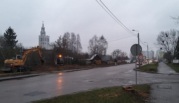 Rozpoczął się drugi etap przebudowy Alei Tysiąclecia Państwa Polskiego w Białymstoku, fot. Wojciech Szubzda