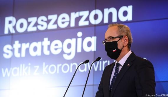 Minister zdrowia Adam Niedzielski, źródło: Adam Guz/KPRM