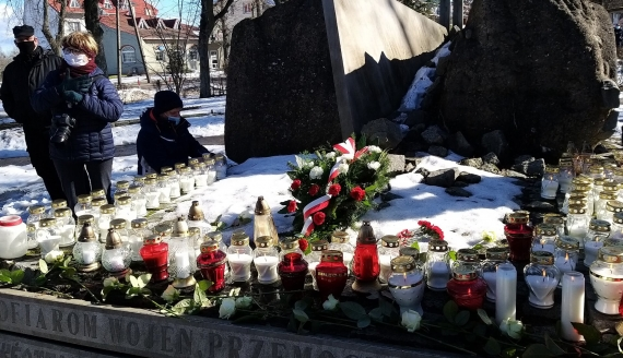 W Hajnówce upamiętniono ofiary pacyfikacji kilku wsi, fot. Anna Petrovska