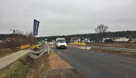 Otwarcie mostu w Sienkiewiczach, 14.12.20199, fot. Marcin Mazewski