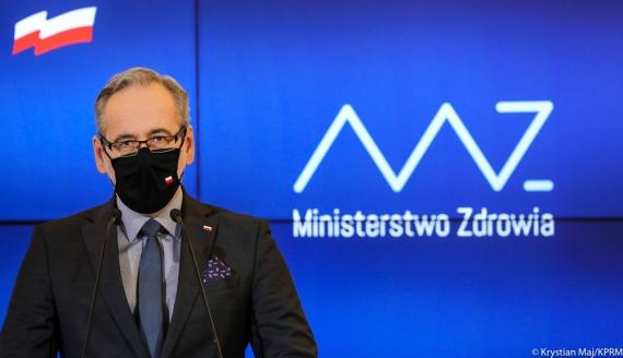 Minister zdrowia Adam Niedzielski, źródło: Krystian Maj/KPRM