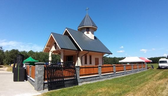 Kaplica pw. Matki Bożej Łaskawej w Brzeźnicy koło Brańska, fot. Lech Pilarski
