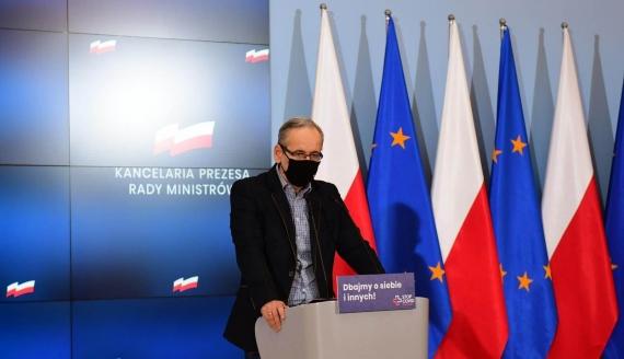 Minister zdrowia Adam Niedzielski, źródło: Kancelaria Prezesa Rady Ministrów/ Twitter