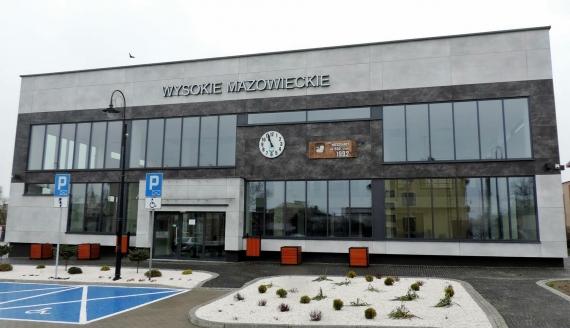 Dworzec autobusowy w Wysokiem Mazowieckiem, fot. Adam Dąbrowski