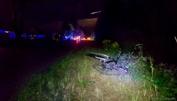 Czternastolatka potrącona przez samochód - kierowca uciekł z miejsca wypadku, fot. Paweł Wądołowski
