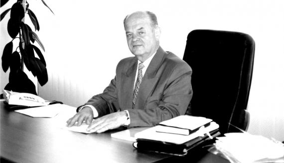 prof. Michał Gnatowski, źródło: UwB