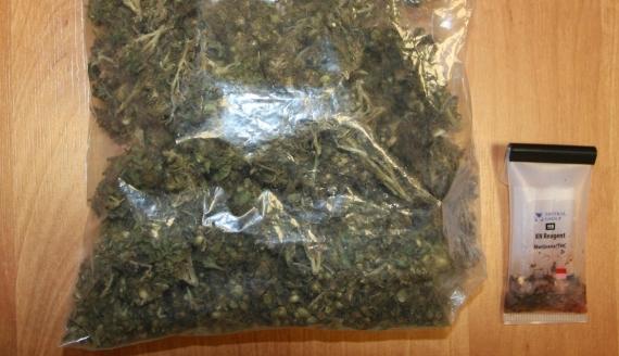 Ponad 1,5 kg marihuany znaleźli policjanci w Grajewie, źródło: http://www.podlaska.policja.gov.pl/