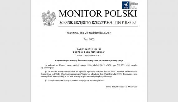 Źródło: Monitor Polski