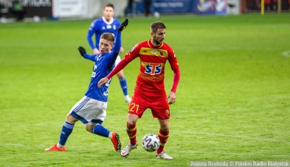 Jakov Puljić strzelił hat-tricka przeciwko Wiśle Płock - fot. Joanna Szubzda