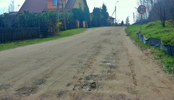 Ulica Solnicka na osiedlu Dojlidy Górne w Białymstoku, fot. Barbara Sokolińska