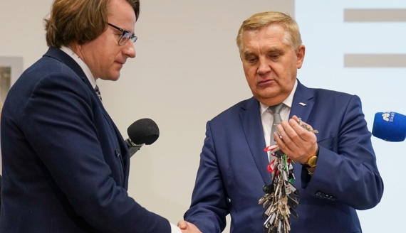 Oficjalnie oddano do użytku budynek Muzeum Pamięci Sybiru, źródło: UM Białystok/Dawid Gromadzki
