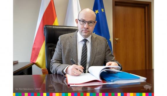 Marszałek Artur Kosicki, fot. Piotr Babulewicz / UMWP