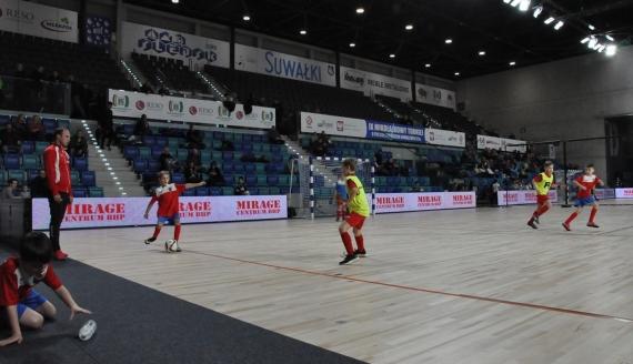 Mikołajkowy Turniej Piłki Nożnej w Suwałkach, fot. Irena Poczobut