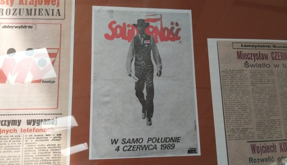 Konferencja naukowa i wystawa w Książnicy Podlaskiej dot. 4 czerwca 1989 roku, fot. Renata Reda