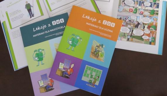 ZUS organizuje specjalne lekcje dla uczniów szkół ponadpodstawowych, źródło: www.zus.pl