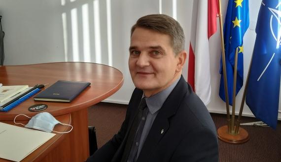 Prezes Głównego Urzędu Miar prof. Jacek Semaniak, fot. Renata Reda