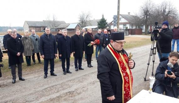 Wicemarszałek białoruskiego parlamentu odwiedził województwo podlaskie, fot. Źmicier Kościn